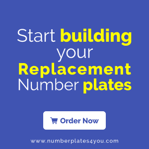 Replacement Numberplates